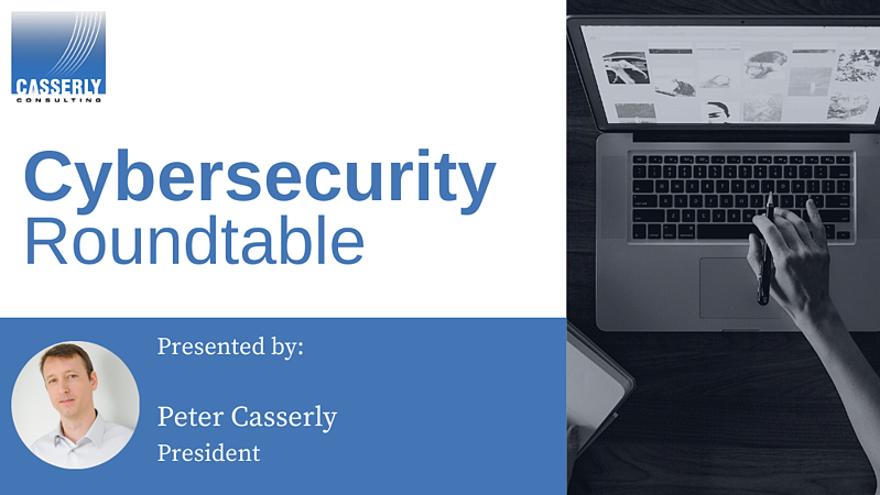 Casserly Cybersecurity Roundtable